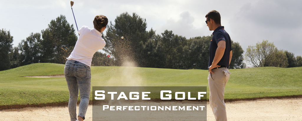 Stage de golf – perfectionnement